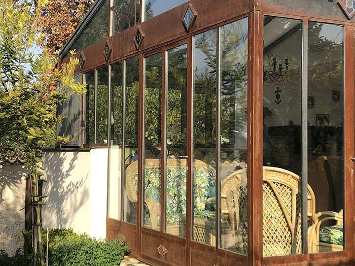 Création portes, véranda, verrières en fer près d'Avignon