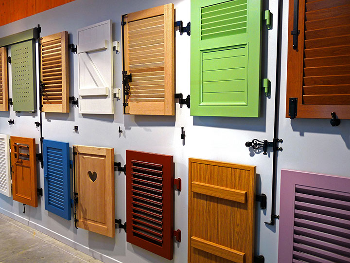 Vente et installation de volets couleurs Gard et Vaucluse